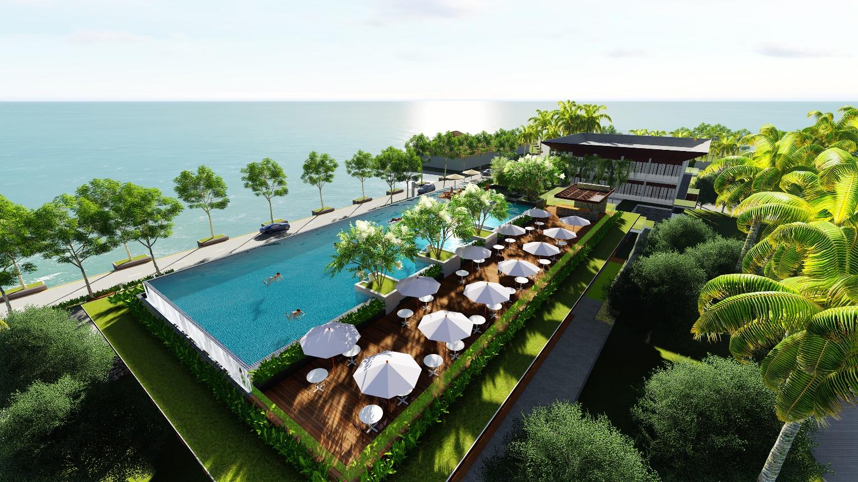Ngắm nhìn Cocoland River Beach, Resort  Quảng Ngãi đầu tiên 4 sao đẳng cấp